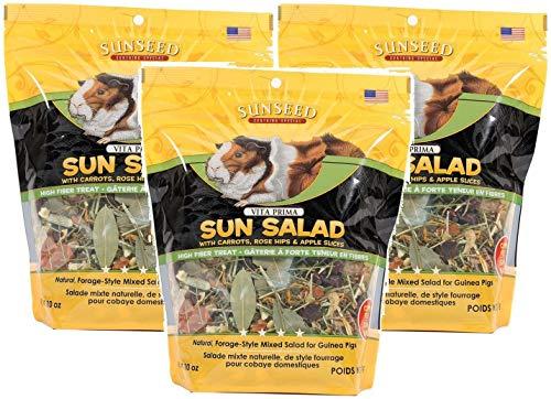 Vita Prima Guinea Pig - Sun Seed Vitakraft Vita Prima Sun Salad Treat for Guinea Pigs (Pack of 3)