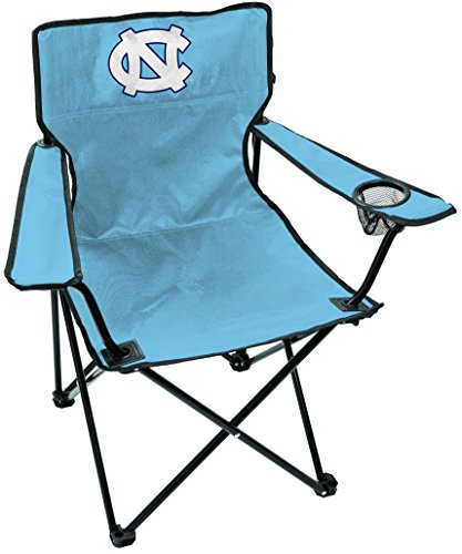NCAA North Carolina Tar Heels Unisex LP0056NCAA Game Changer Chair, Black, Adult