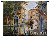 Fine Art Tapestries ''Venice Canal'' Wall Tapestry