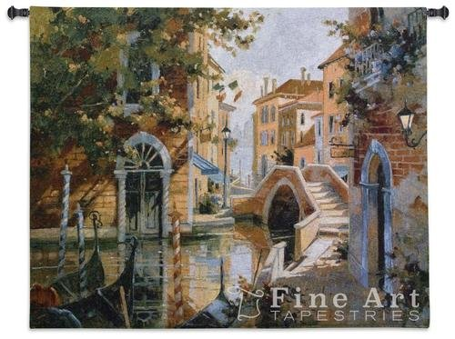 Fine Art Tapestries ''Venice Canal'' Wall Tapestry by Fine Art Tapestries