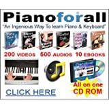 Piano For All-The Ingenious New Way to Learn Piano & Keyboard for PC or MAC