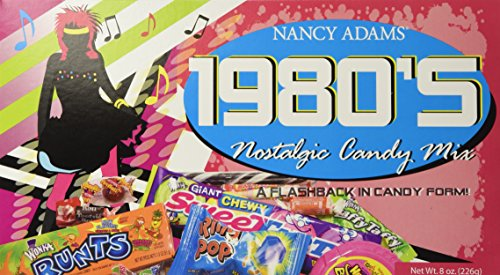 1980's Retro Candy Gift Box-Decade Box Gift Basket - Classic 80's Candy -