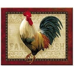 CounterArt Farm Fresh Cutting Board, 15 x 12 Inches