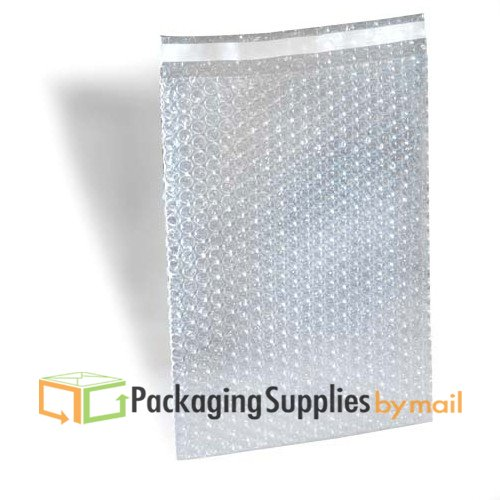 8x15.5 Self-Seal Clear Bubble Out Pouches Bags Protective Bags for Shipping, Storage, and Moving (2700 pcs) by PackagingSuppliesByMail