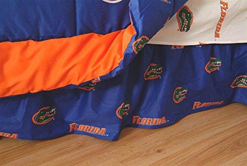 College Covers Florida Gators Printed Dust Ruffle