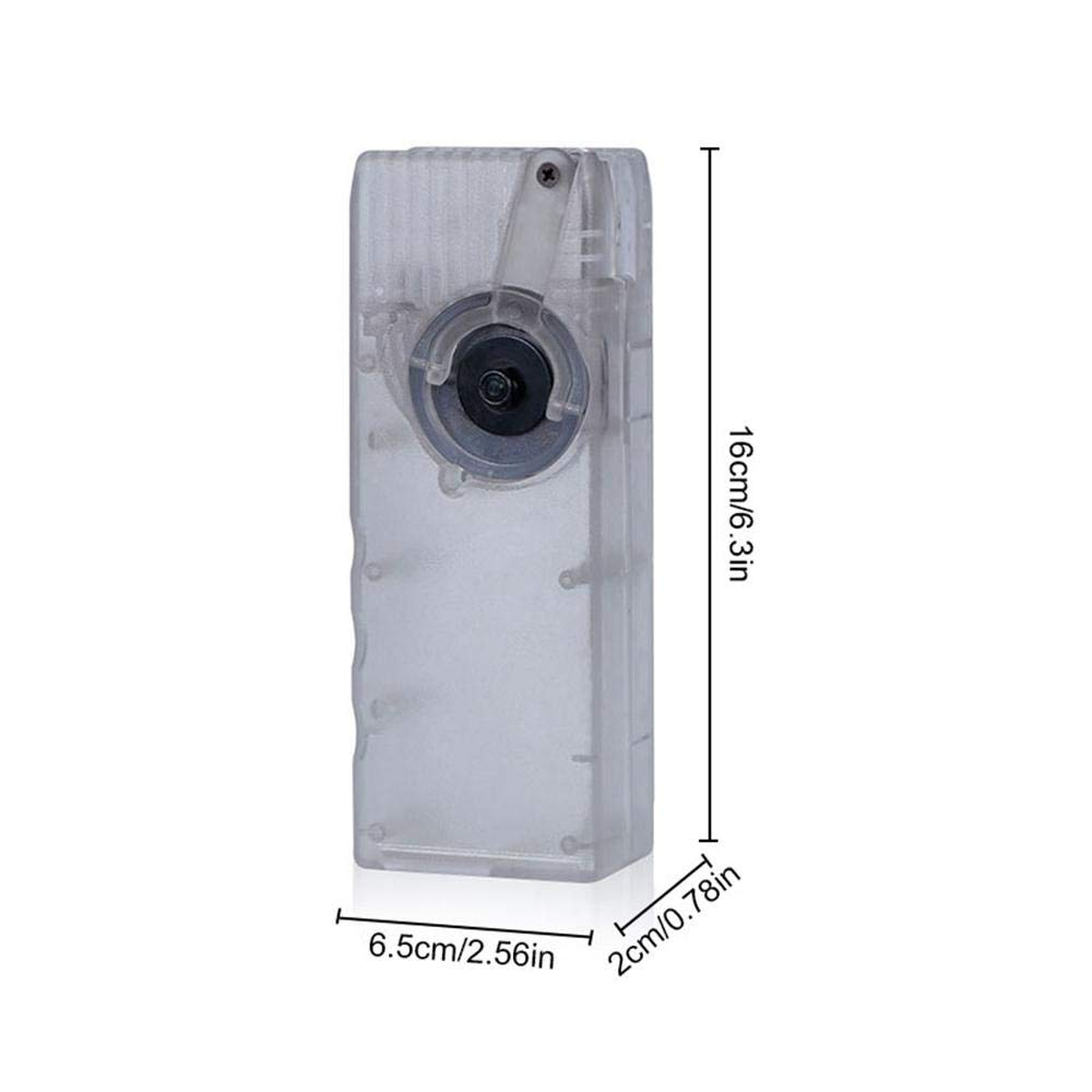 leegoal Manivelle Plastic BB Speed Loader M4 pour Chargeur de Chargeur Airsoft Chargeur Rapide-6MM 1000 Tours