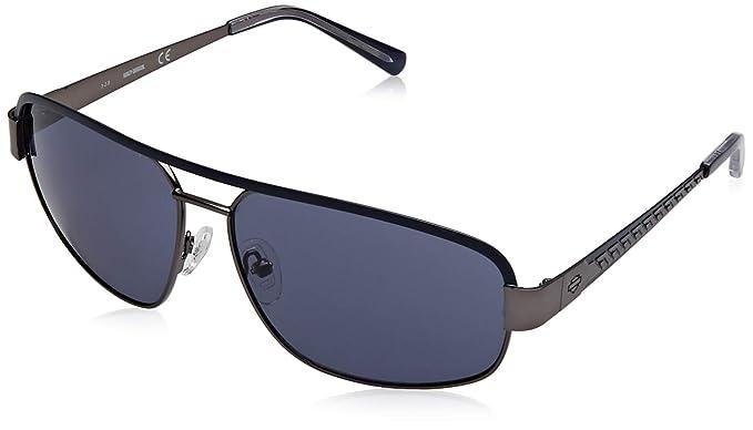 HARLEY-DAVIDSON HD0924X Gafas de sol, Negro (Shiny Gunmetal ...
