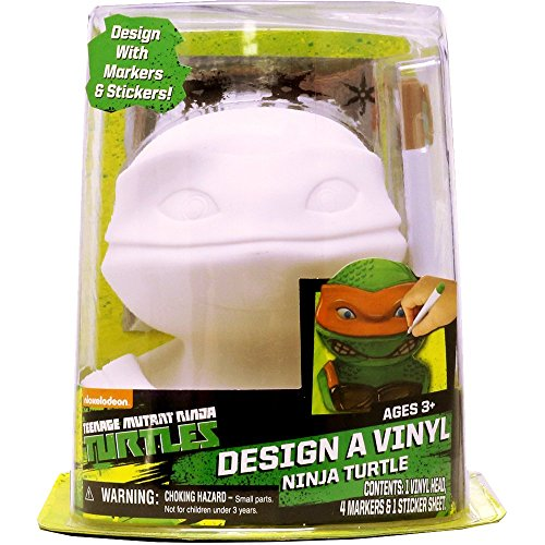 Tara Toy Teenage Mutant Ninja Turtles Design A Vinyl Craft Kit -