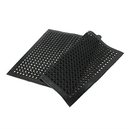 Black Indoor Commercial Industrial Durable Anti-Fatigue Floor Mat 36'' x 60'' by Unknown (Image #1)