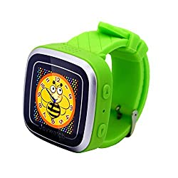 Coolfire Kids Smart Watches With Somatic Games, Pedometer, Alarm Clock, Calendar (green)