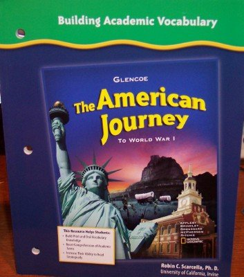Building Academic Vocabulary (The American Journey: to World War 1)