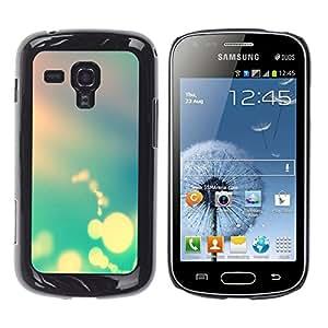 EJOY---Cubierta de la caja de protección la piel dura para el ** Samsung Galaxy S Duos S7562 ** --Boker Colores