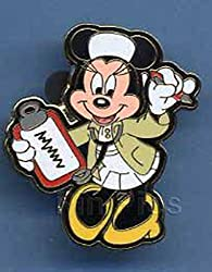 Disney Nurse Minnie Mouse Pin 36086