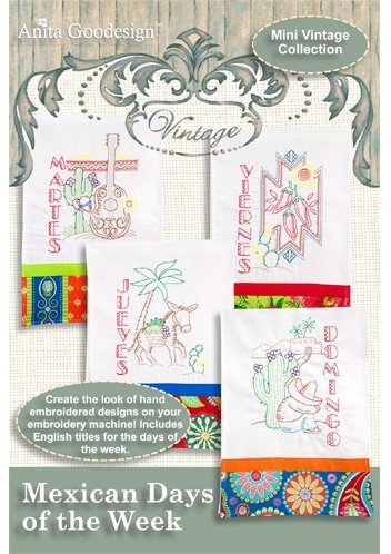 (Anita Goodesign Embroidery Machine Designs CD MEXICAN DAYS OF THE)