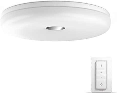Philips Hue Struana Led Ceiling Light Bathroom Light Dimmable All Shades Of White Controllable Via App White Compatible With Amazon Alexa Echo Echo Dot Amazon De Beleuchtung