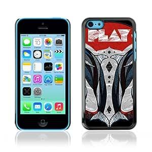 CQ Tech Phone Accessory: Carcasa Trasera Rigida Aluminio para Apple iPhone 5C - Play Illustration