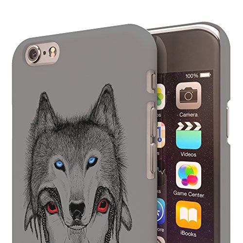 Koveru Back Cover Case for Apple iPhone 6 - Mask of Wolf