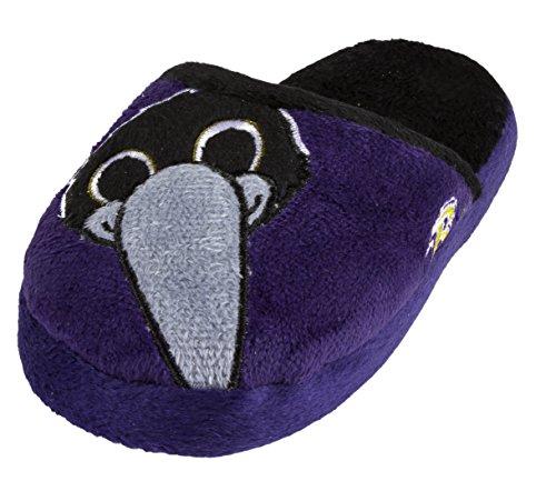 NFL Baltimore Ravens Child's Mascot Slippers - Large (Baltimore Ravens Mascot)