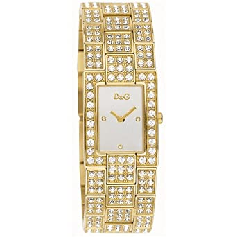 46fdee0dcc8 D G Dolce Gabbana Women s Quartz Watch with Mother of Pearl Dial Analogue  Display and Gold Stainless Steel Strap DW0007 D G  Dolce   Gabbana   Amazon.co.uk  ...