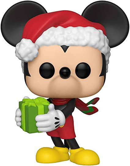 Holiday Mickey Brand New In Box Funko Mickey/'s 90th POP Disney