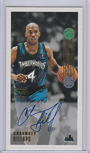 2001-02 Topps High Topps Chauncey Billups Autograph 146/850