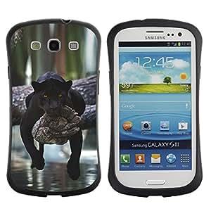 Suave TPU GEL Carcasa Funda Silicona Blando Estuche Caso de protección (para) Samsung Galaxy S3 I9300 / CECELL Phone case / / panther lazy sleepy cute big cat Africa /