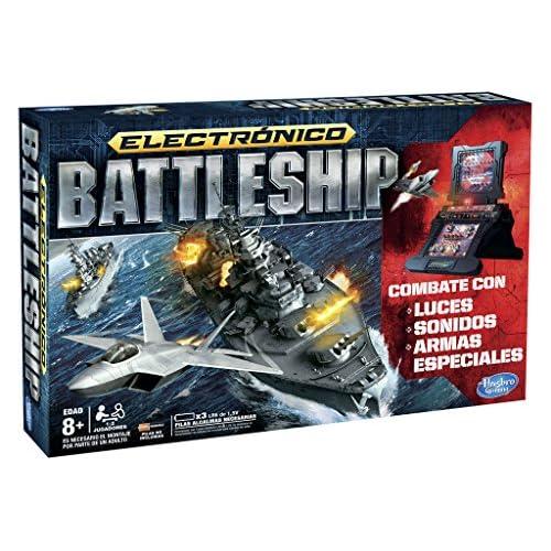 chollos oferta descuentos barato Hasbro Gaming Juego de Estrategia Hundir la Flota Juego electrónico A3846105