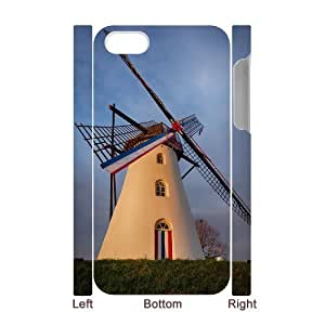 Windmill Unique Design 3D Cover Case for Iphone 4,4S,custom cover case ygtg-705813
