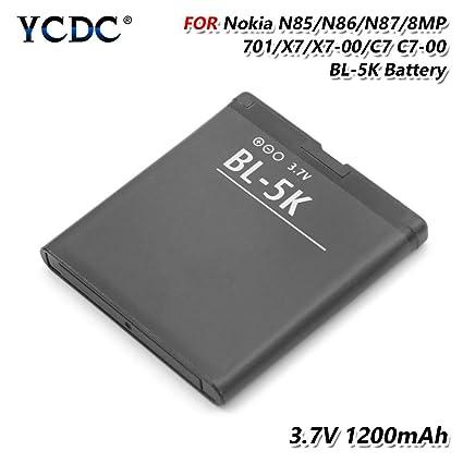 Amazon.com: YCDC - Batería para Nokia N85, N86, N87, C7, C7 ...
