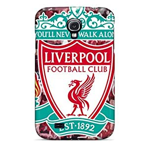 Hot Liverpool Fc Logo First Grade Tpu Phone Case For Galaxy S4 Case Cover