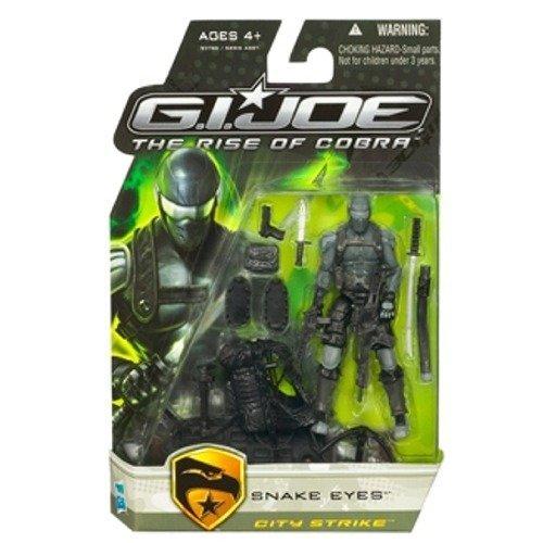 G.I. Joe Rise Of Cobra Snake Eyes City Strike Action Figure -
