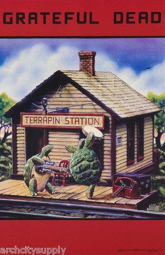 Grateful Dead Poster The Terrapin Station Cartoon