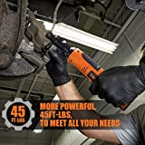 """TACKLIFE Cordless Electric Ratchet Wrench 3/8"""" 45"""