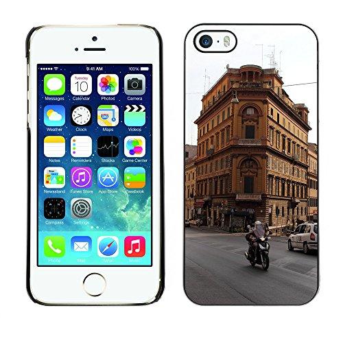 Premio Sottile Slim Cassa Custodia Case Cover Shell // F00008265 architecture // Apple iPhone 5 5S 5G