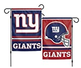 WinCraft NFL New York Giants 2-Sided Garden Flag, 12 x 18-inches