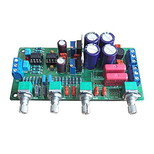 AOSHIKE HiFi NE5532 Tone Amplifier board 2.0 power amplifier OPA2604 preamplifier