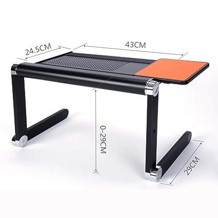 Tavolino Pieghevole Da Letto.Nclon Tavolino Pieghevole Da Letto Tavolino Portatile In Metallo