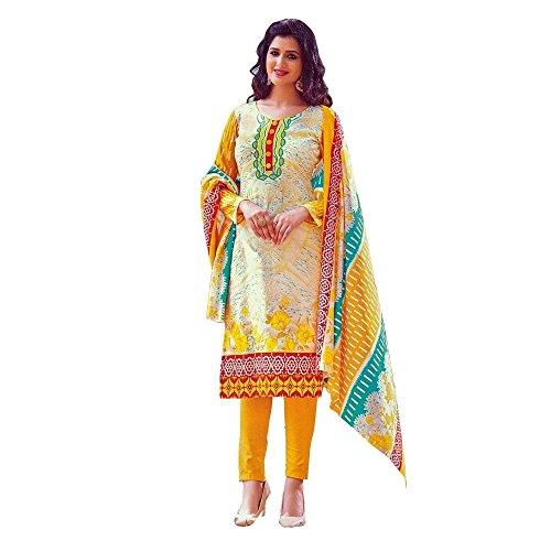 Ready-Made-Ethnic-Beautiful-Print-Cotton-Salwar-Kameez-Suit-Indian
