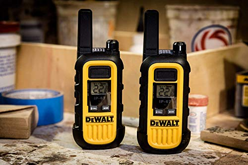DeWALT DXFRS300 1W Walkie Talkies Heavy Duty Business Two-Way Radios (Pair) by DEWALT (Image #13)