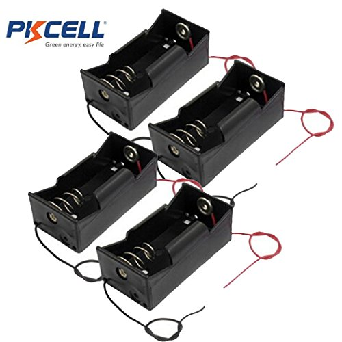 (1 Slot D Cell Battery Holder With Two Wires (4))