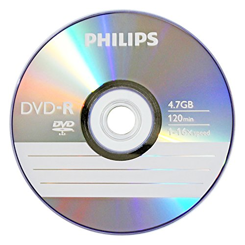 Philips DM4S6B25F/17 25 Pack 16X DVD-R Spindle by Philips (Image #2)