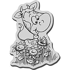 Stampendous cling rubber stamp cowlik for Rubber stamps arts and crafts