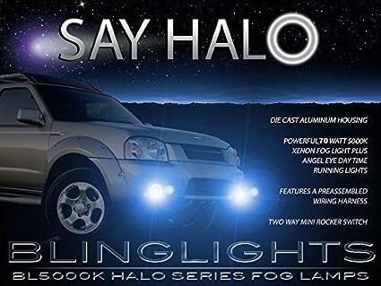 Amazon 2001 2002 2003 2004 Nissan Frontier Navara Blue Halo 70w
