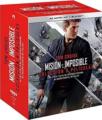 Pack: Misión Imposible - Temporadas 1-6 4K UHD + BD + BD Extras ...