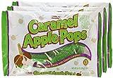 Tootsie, Caramel Apple Pops, 9.4oz Bag (Pack of 3)