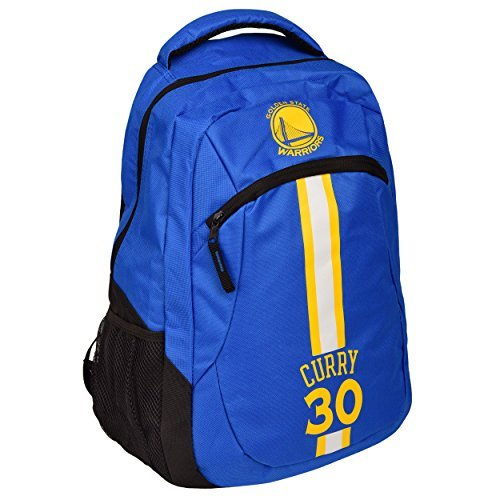 TBFC Golden State Warriors NBA Action Backpack School Book Gym Bag - Stephen Curry #30 by TBFC