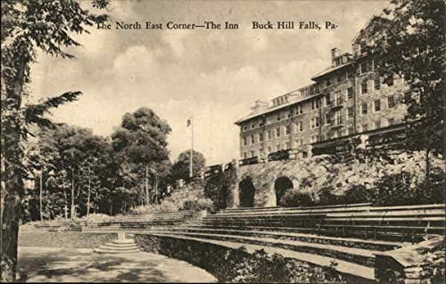 The North East Corner - The Inn Buck Hill Falls, Pennsylvania Original Vintage Postcard