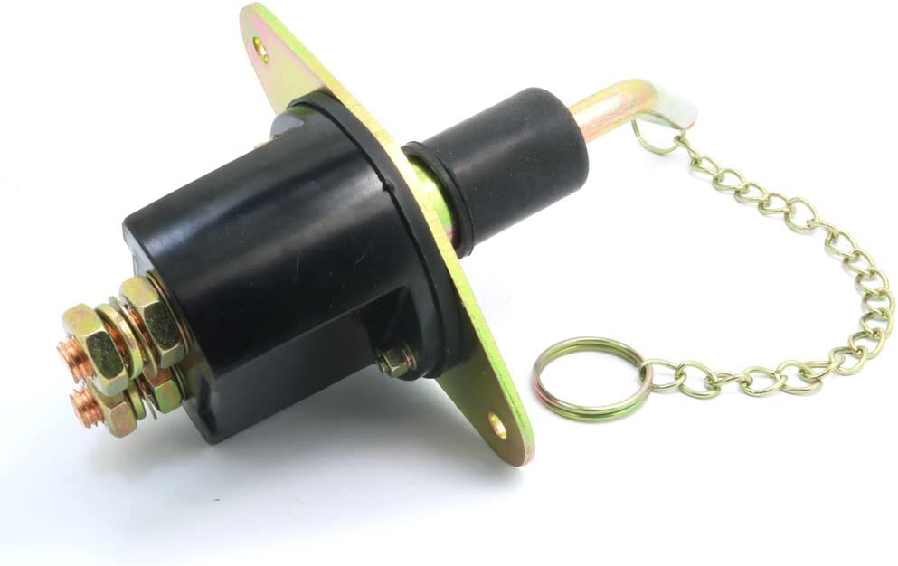 Batterieterleiste Van Motorrad abnehmbarer Schl/üssel NUZAMAS Autobatterie-Schalterklemme LKW Trennschalter Haupttrennschalter Trennschalter Wohnwagen