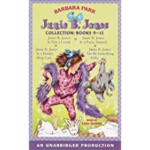 Junie B. Jones Collection Books 9-12: #9 JBJ Is Not a Crook; #10 JBJ Is a Party Animal; #11 JBJ Is a Beauty Shop Guy; #12 JBJ Smells Something Fishy by Barbara Park (2001-05-08)