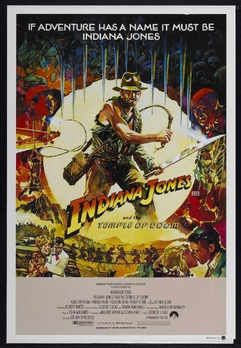 Indiana Jones and the Temple of Doom POSTER Movie (11 x 17 Inches - 28cm x 44cm) (1984) (Australian Style B)